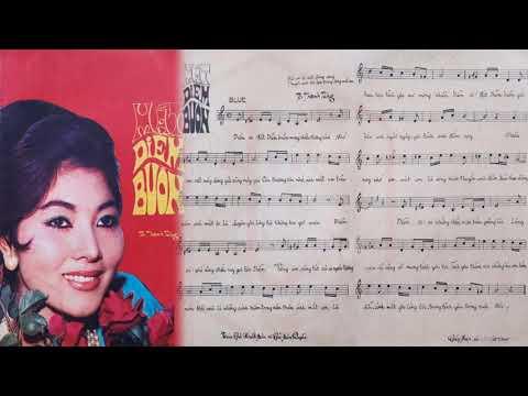 🎵 Mắt Diễm Buồn (Tô Thanh Tùng) Thái Châu Pre 1975 | Tờ Nhạc Xưa