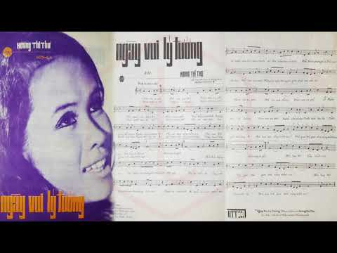 🎵 Ngày Vui Lý Tưởng (Hoàng Thi Thơ) Sơn Ca Pre 1975 | Tờ Nhạc Xưa