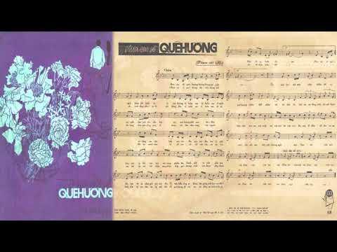 🎵 Đưa Em Về Quê Hương (Phạm Thế Mỹ) Khánh Ly Pre 1975 | Tờ Nhạc Xưa