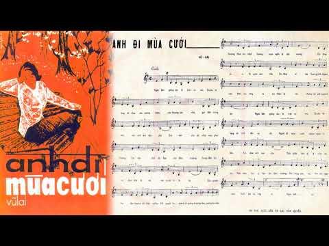 🎵 Anh Đi Mùa Cưới (Vũ Lai) Vân Thanh Pre 1975 | Tờ Nhạc Xưa