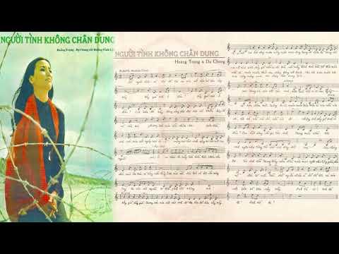 🎵 Người Tình Không Chân Dung (Hoàng Trọng, Dạ Chung) Khánh Ly Pre 1975 | Tờ Nhạc Xưa