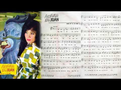 🎵 Hạnh Phúc Đầu Xuân (Lê Dinh, Minh Kỳ) Thanh Thúy Pre 1975 | Tờ Nhạc Xưa