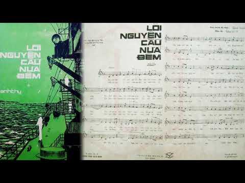 🎵 Lời Nguyện Cầu Nửa Đêm (Anh Thy) Phương Dung, Nhật Trường Pre 1975 | Tờ Nhạc Xưa
