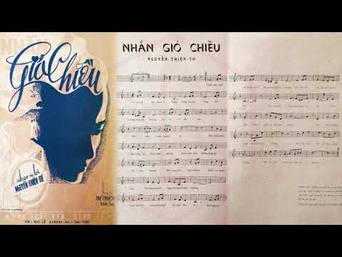 🎵 Nhắn Gió Chiều (Nguyễn Thiện Tơ) Thanh Thúy Pre 1975 | Tờ Nhạc Xưa