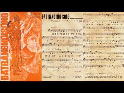 🎵 Đất Bằng Nổi Sóng (Hồng Vân, Trần Quý) Thanh Tuyền Pre 1975 | Tờ Nhạc Xưa