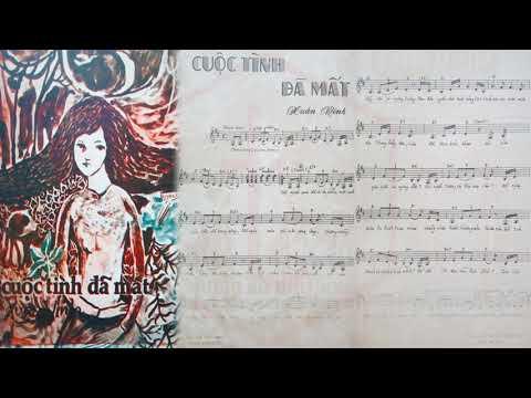 🎵 Cuộc Tình Đã Mất (Xuân Vinh) Dạ Hương Pre 1975 | Tờ Nhạc Xưa