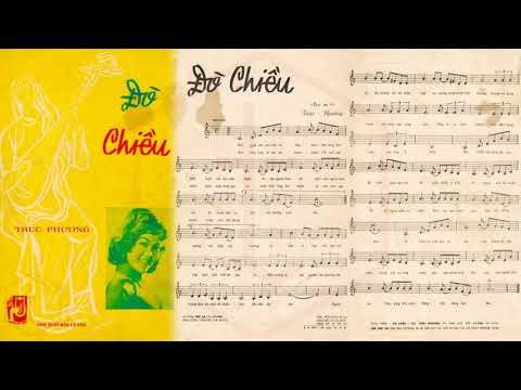 🎵 Đò Chiều 2 (Trúc Phương) Thanh Thúy Pre 1975 | Tờ Nhạc Xưa