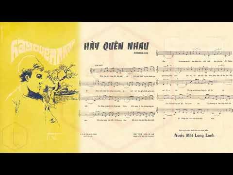 🎵 Hãy Quên Nhau (Phương Kim) Dạ Hương Pre 1975 | Tờ Nhạc Xưa