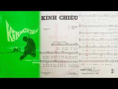 🎵 Kinh Chiều (Hoàng Thi Thơ) Carol Kim Pre 1975 | Tờ Nhạc Xưa