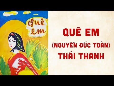 🎵 Quê Em (Nguyễn Đức Toàn) Thái Thanh Pre 1975 | Bìa Nhạc Xưa