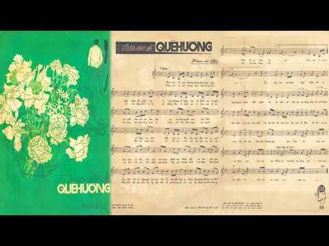 🎵 Đưa Em Về Quê Hương (Phạm Thế Mỹ) Duy Khánh Pre 1975 | Tờ Nhạc Xưa