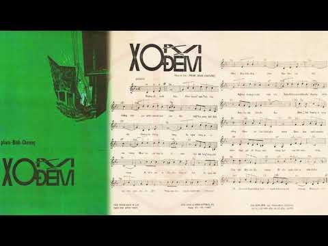 🎵 Xóm Đêm (Phạm Đình Chương) Anh Ngọc Pre 1975 | Tờ Nhạc Xưa