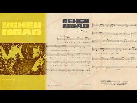 🎵 Nghẹn Ngào (Lam Phương) Túy Hồng, Phương Đại Pre 1975 | Tờ Nhạc Xưa