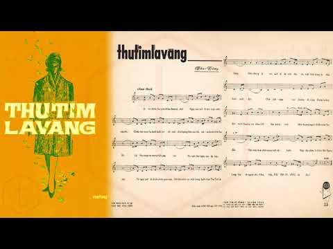 🎵 Thu Tím Lá Vàng (Vân Tùng) Hoàng Oanh Pre 1975 | Tờ Nhạc Xưa