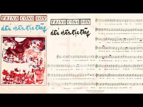 🎵 Tiếng Hát Dạ Lan (Trịnh Công Sơn) Lệ Thu Pre 1975 | Tờ Nhạc Xưa