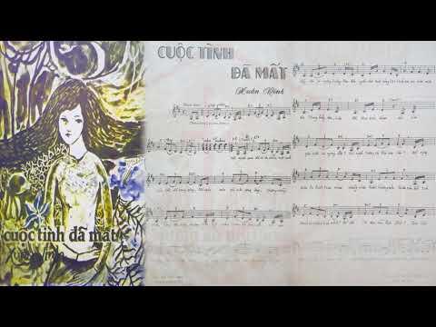 🎵 Cuộc Tình Đã Mất (Xuân Vinh) Uyên Phương Pre 1975 | Tờ Nhạc Xưa