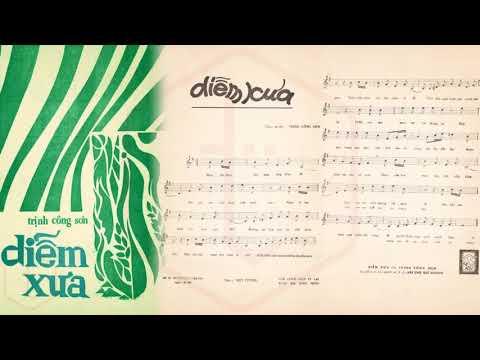 🎵 Diễm Xưa (Trịnh Công Sơn) Anh Khoa Pre 1975 | Tờ Nhạc Xưa