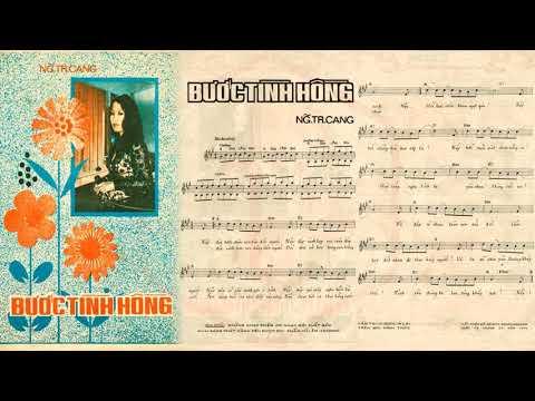 🎵 Bước Tình Hồng (Nguyễn Trung Cang) Thanh Lan Pre 1975 | Tờ Nhạc Xưa