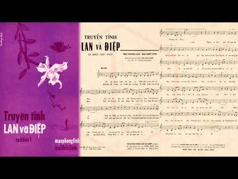 🎵 Truyện Tình Lan Và Điệp 1 (Lê Minh Bằng) Hương Lan Pre 1975 | Tờ Nhạc Xưa