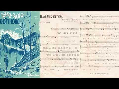 🎵 Trăng Sáng Đồi Thông (Hồng Vân, Trần Quý) Hương Lan Pre 1975 | Tờ Nhạc Xưa