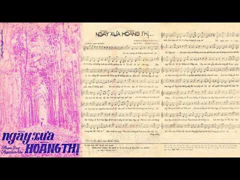 🎵 Ngày Xưa Hoàng Thị (Phạm Duy) Thanh Lan Pre 1975 | Tờ Nhạc Xưa