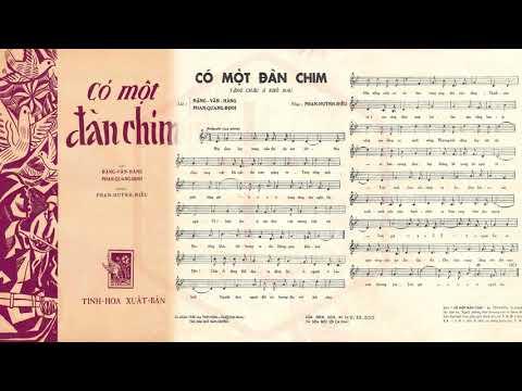 🎵 Có Một Đàn Chim (Phan Huỳnh Điểu) Hoàng Oanh Pre 1975 | Tờ Nhạc Xưa