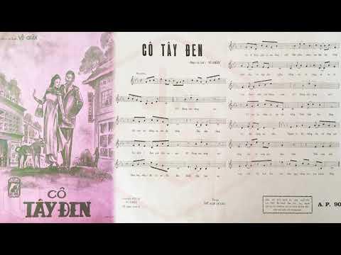 🎵 Cô Tây Đen (Vũ Chấn) Ban Số Dzách Pre 1975 | Tờ Nhạc Xưa