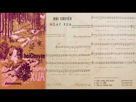 🎵 Hỏi Chuyện Ngày Xưa (Tân Cổ, Phạm Mạnh Cương, Viễn Châu) Mỹ Châu Pre 1975 | Tờ Nhạc Xưa