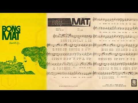 🎵 Bóng Mát (Phạm Thế Mỹ) Mỹ Thể Pre 1975 | Tờ Nhạc Xưa