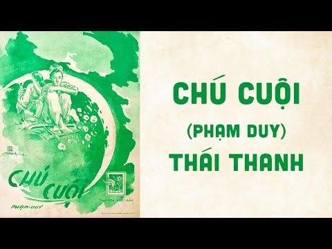 🎵 Chú Cuội (Phạm Duy) Thái Thanh Pre 1975 | Bìa Nhạc Xưa