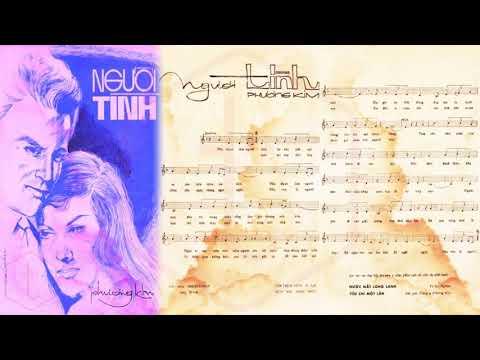 🎵 Người Tình (Phương Kim) Hoàng Oanh Pre 1975 | Tờ Nhạc Xưa