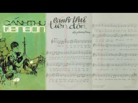 🎵 Cánh Thư Tiền Đồn (Đài Phương Trang) Trung Chỉnh Pre 1975 | Tờ Nhạc Xưa