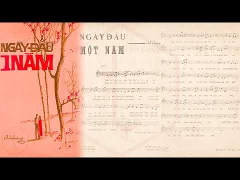 🎵 Ngày Đầu Một Năm (Anh Chương) Thanh Thúy Pre 1975 | Tờ Nhạc Xưa