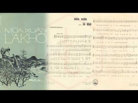 🎵 Mùa Xuân Lá Khô (Trần Thiện Thanh) Nhật Trường Pre 1975 | Tờ Nhạc Xưa