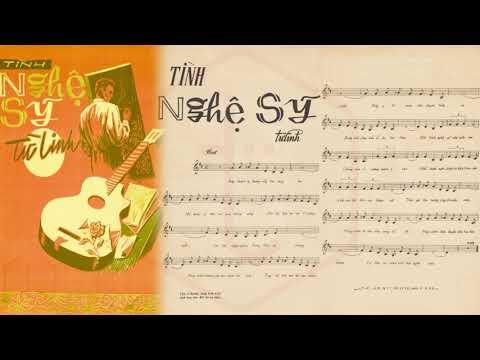 🎵 Tình Nghệ Sỹ (Đoàn Chuẩn, Từ Linh) Thái Thanh Pre 1975 | Tờ Nhạc Xưa