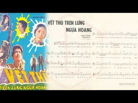 🎵 Vết Thù Trên Lưng Ngựa Hoang (Ngọc Chánh, Phạm Duy) Julie Quang Pre 1975 | Tờ Nhạc Xưa