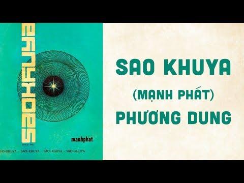 🎵 Sao Khuya (Mạnh Phát) Phương Dung Pre 1975 | Bìa Nhạc Xưa