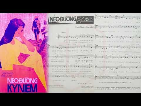 🎵 Nẻo Đường Kỷ Niệm (Hoài Linh, Tuấn Khanh) Hà Thanh Pre 1975 | Tờ Nhạc Xưa