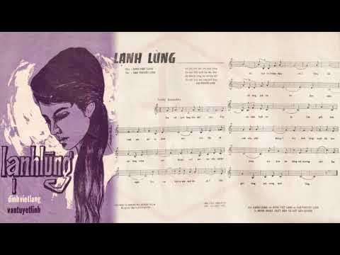 🎵 Lạnh Lùng (Đinh Việt Lang, Vạn Tuyết Linh) Giao Linh Pre 1975 | Tờ Nhạc Xưa