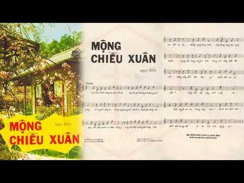 🎵 Mộng Chiều Xuân (Ngọc Bích) Khánh Ly Pre 1975 | Tờ Nhạc Xưa