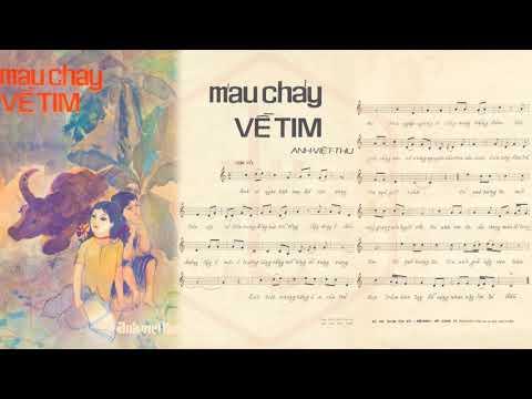 🎵 Máu Chảy Về Tim (Anh Việt Thu) Duy Khánh Pre 1975 | Tờ Nhạc Xưa