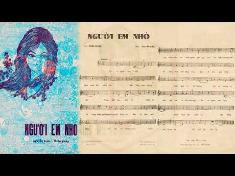 🎵 Người Em Nhỏ (Nguyễn Hiền, Thiệu Giang) Duy Trác Pre 1975 | Tờ Nhạc Xưa