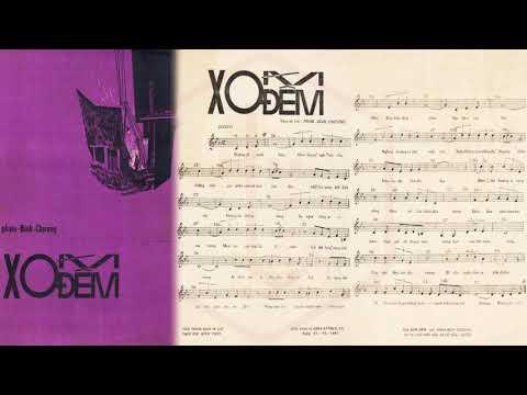 🎵 Xóm Đêm (Phạm Đình Chương) Trường Hải Pre 1975 | Tờ Nhạc Xưa
