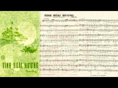 🎵 Tình Hoài Hương (Phạm Duy) Anh Ngọc Pre 1975 | Tờ Nhạc Xưa