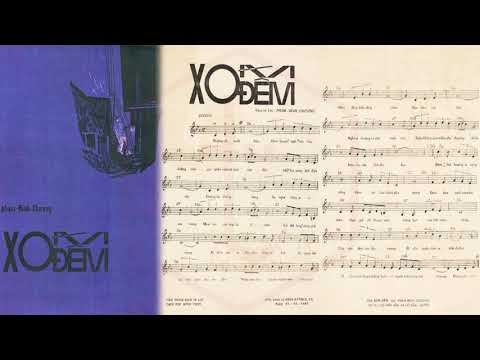 🎵 Xóm Đêm (Phạm Đình Chương) Ban Hợp Ca Thăng Long Pre 1975 | Tờ Nhạc Xưa