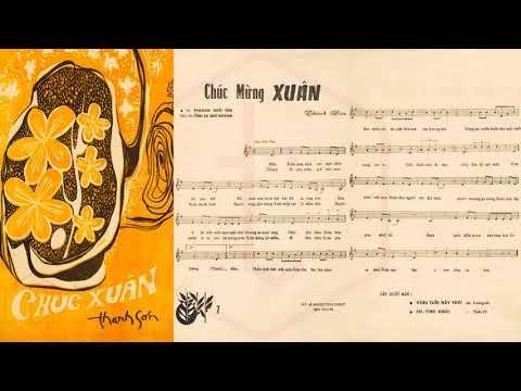 🎵 Chúc Xuân (Thanh Sơn) Phương Hoài Tâm Pre 1975 | Tờ Nhạc Xưa