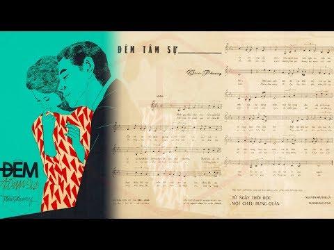 🎵 Đêm Tâm Sự (Trúc Phương) Thanh Thúy Pre 1975 | Tờ Nhạc Xưa