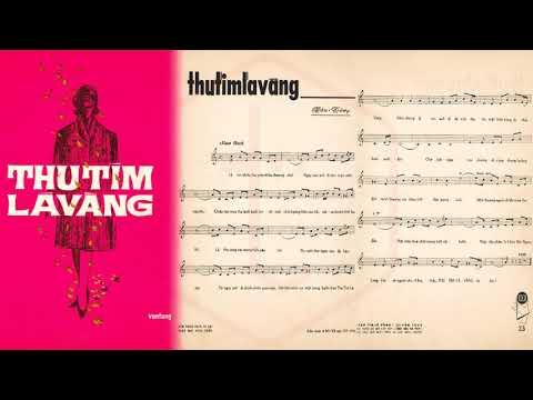 🎵 Thu Tím Lá Vàng (Vân Tùng) Phương Dung Pre 1975 | Tờ Nhạc Xưa