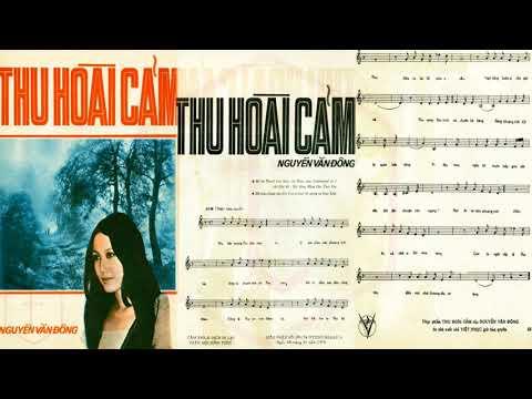 🎵 Thu Hoài Cảm (Nguyễn Văn Đông) Thanh Lan Pre 1975 | Tờ Nhạc Xưa
