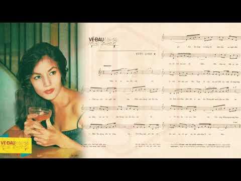 🎵 Về Đâu Mái Tóc Người Thương (Hoài Linh) Phương Dung Pre 1975 | Tờ Nhạc Xưa